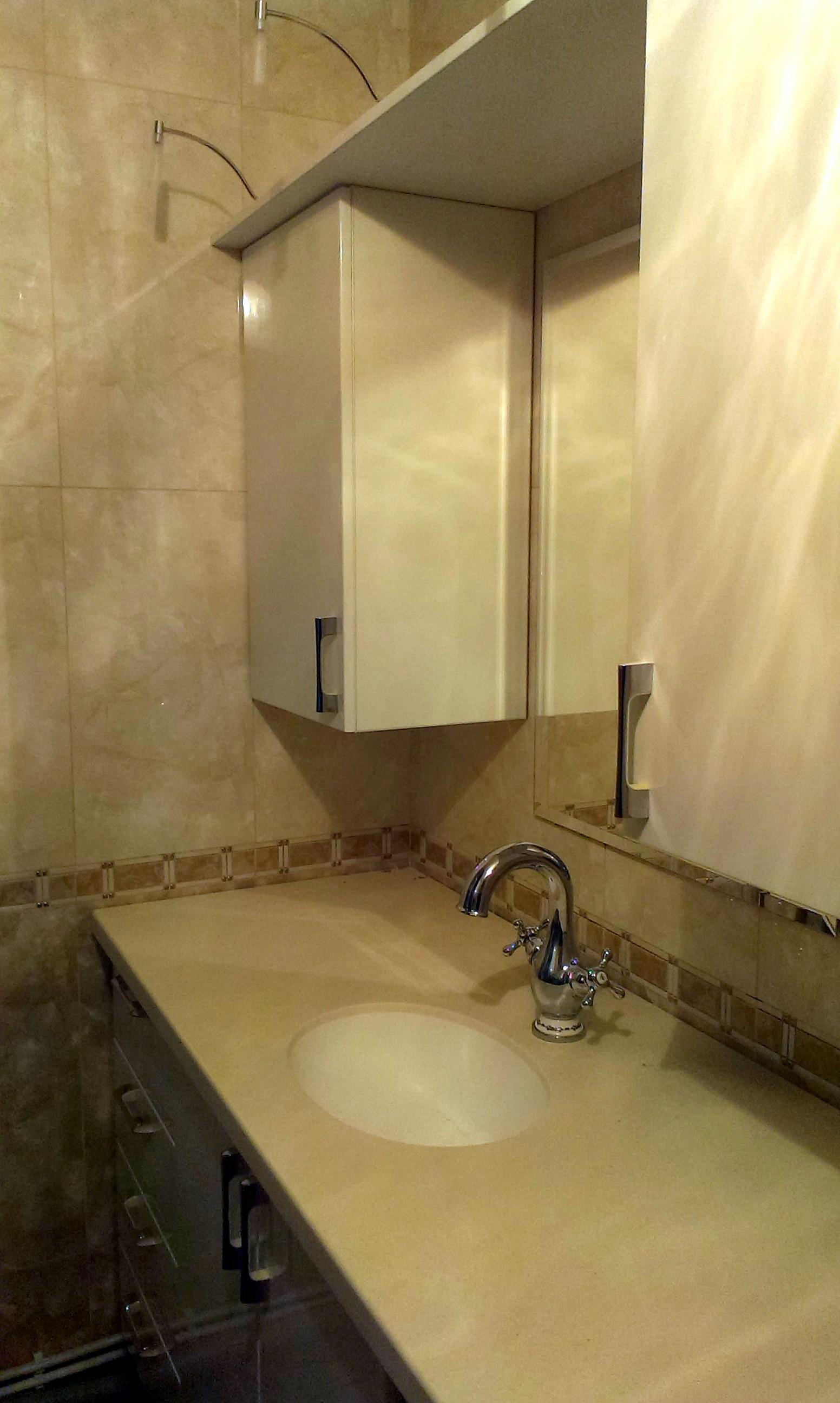 Столешница в ванную своими руками: из чего и 3